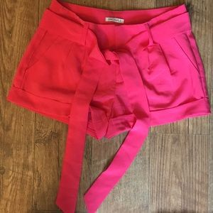 Pants - Pink Cotton Dress Shorts Size 3